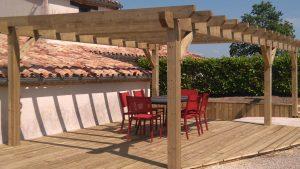 Pergolas bois: Créez votre espace détente à ciel ouvert !